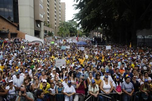 La fronde estudiantine au Venezuela