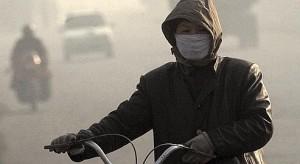 Pollution atmospherique de l'air liee au charbon dans la ville de Lifen