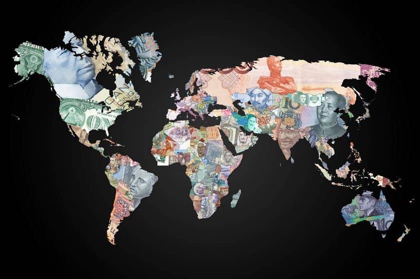 Salaires moyens du monde