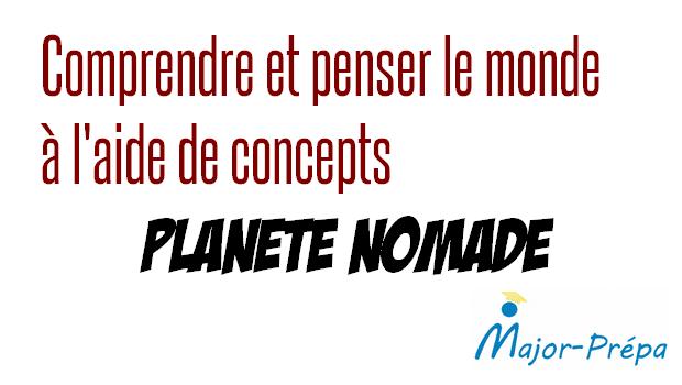 Comprendre et penser le monde à l'aide de concepts – Planète nomade