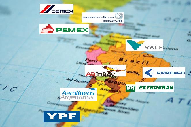 Les Grandes Entreprises Latino Americaines Major Prepa