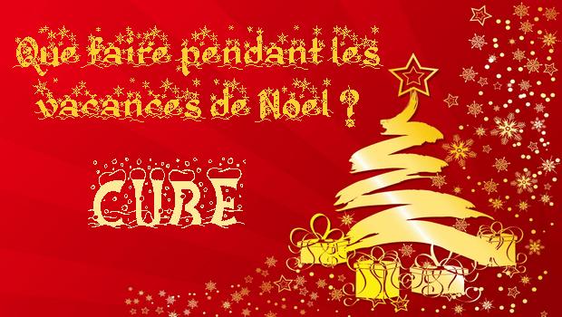 Que faire pendant les vacances de Noël 2018-2019 ? – version cube