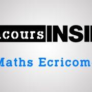Maths Ecricome ECT 2017 – Sujet