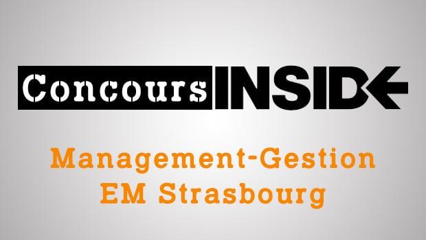 Management-Gestion EM Strasbourg