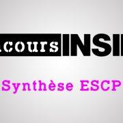Synthèse ESCP 2017 – Sujet