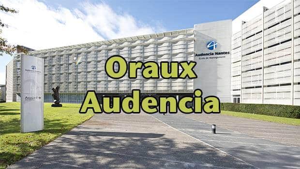 Une Oraux Audencia 2016