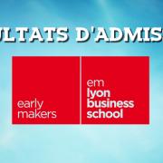 Résultats d'admissions emlyon 2016