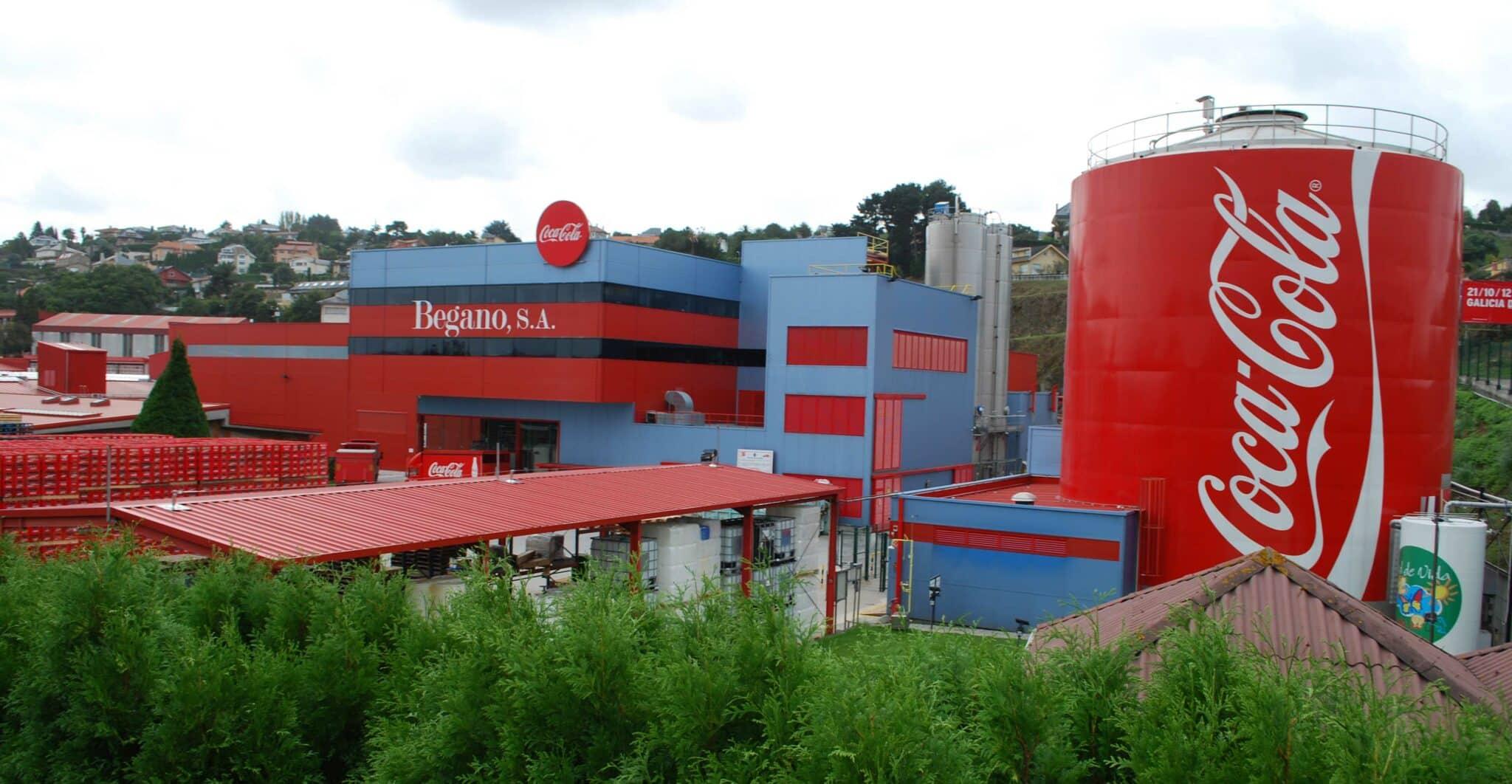 Dans quel lieu la marque Coca-Cola a-t-elle ouvert une usine ?