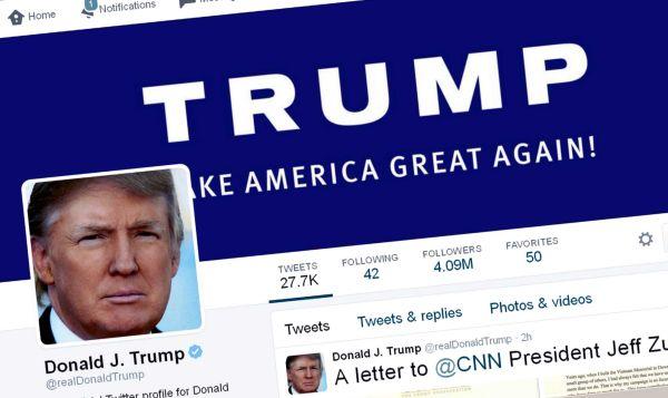 Quel réseau social a une véritable place dans la stratégie de D. Trump ?