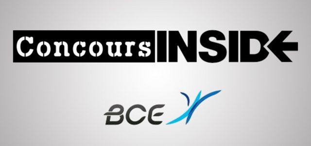 Inside Concours BCE 2017
