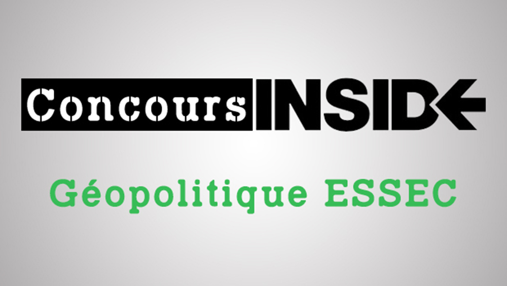 Géopo ESSEC 2018 – Analyse du sujet