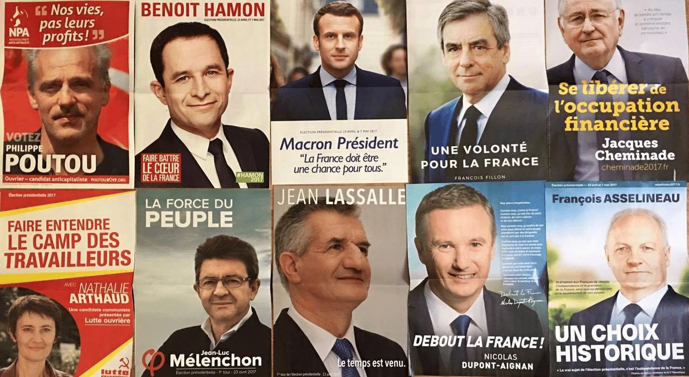 candidats présidentielles 2017