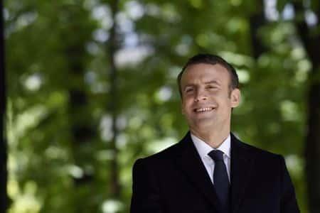 Emmanuel Macron s'est rendu...