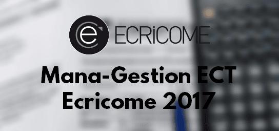Management Gestion Ecricome 2017 – Corrigé & Rapport