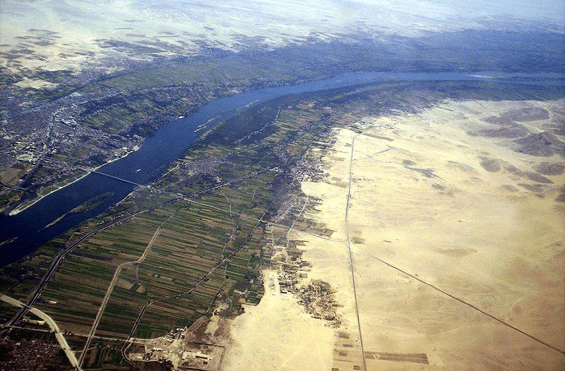 Fleuve2# Le Nil, un fleuve vital
