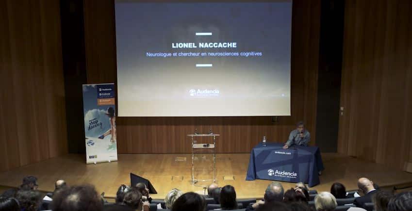 Podcast #1 – Conférence de Lionel Naccache sur la mémoire à Audencia BS