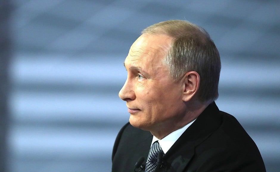 Vladimir Poutine connaît un regain de popularité.