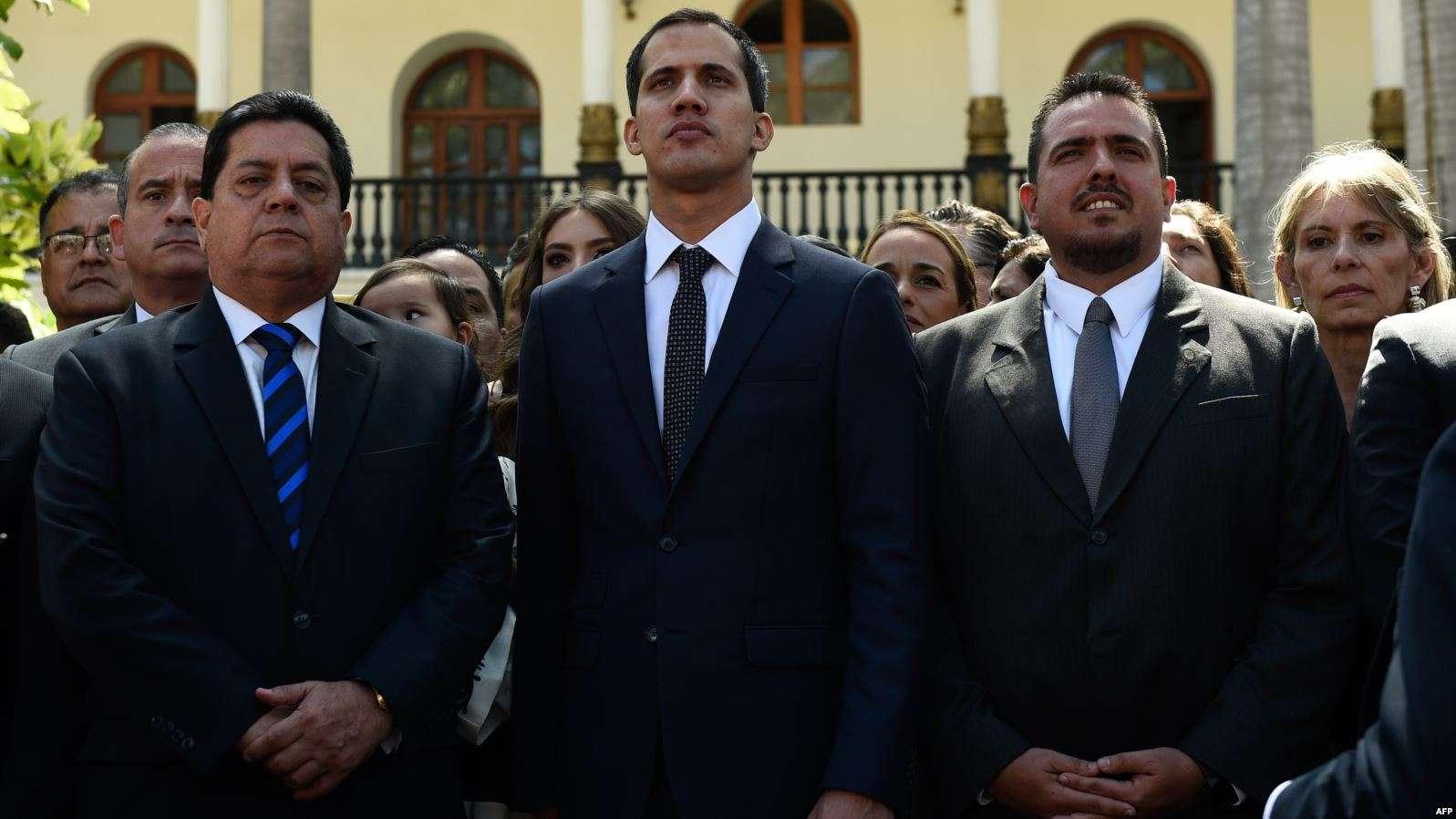 Juan Guaido ne bénéficie plus de l'immunité.