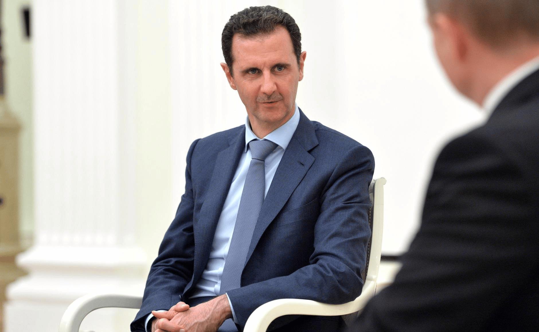 Où Bachar Al-Assad s'est-il rendu lundi 25 février ?