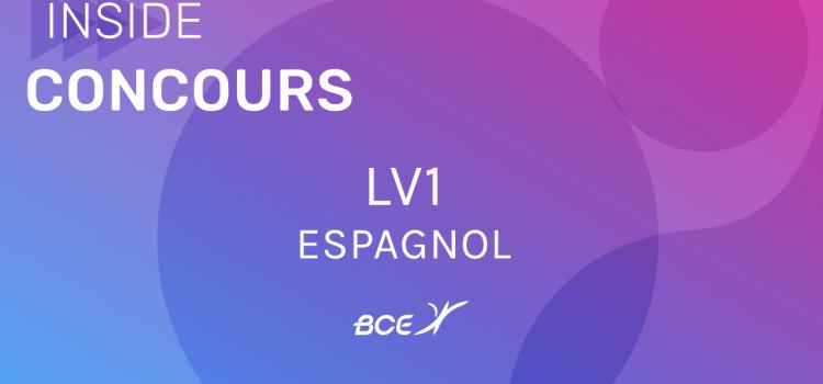 LV1 Espagnol IENA 2019 – Sujet