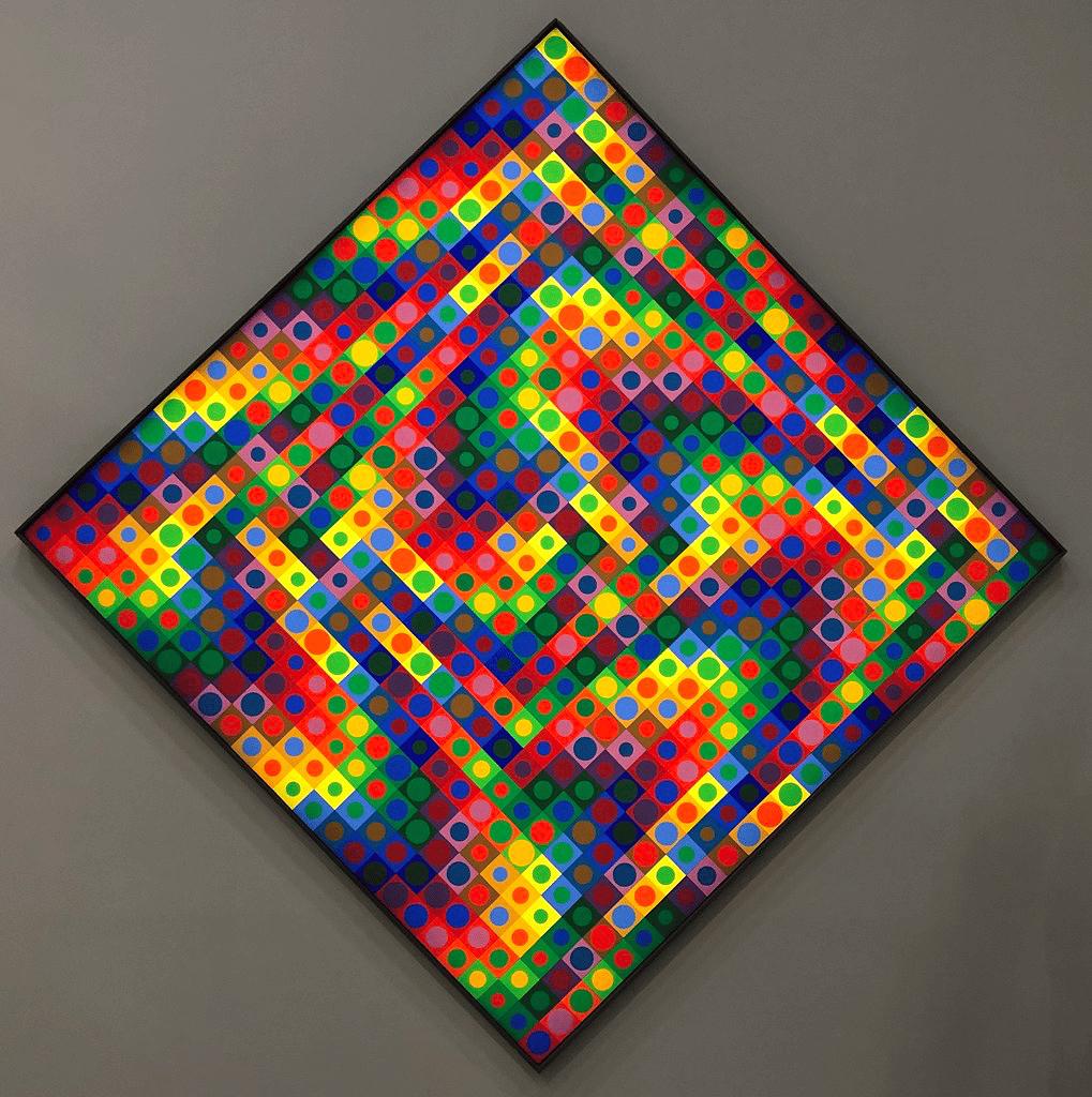 Vasarely a été influencé par :